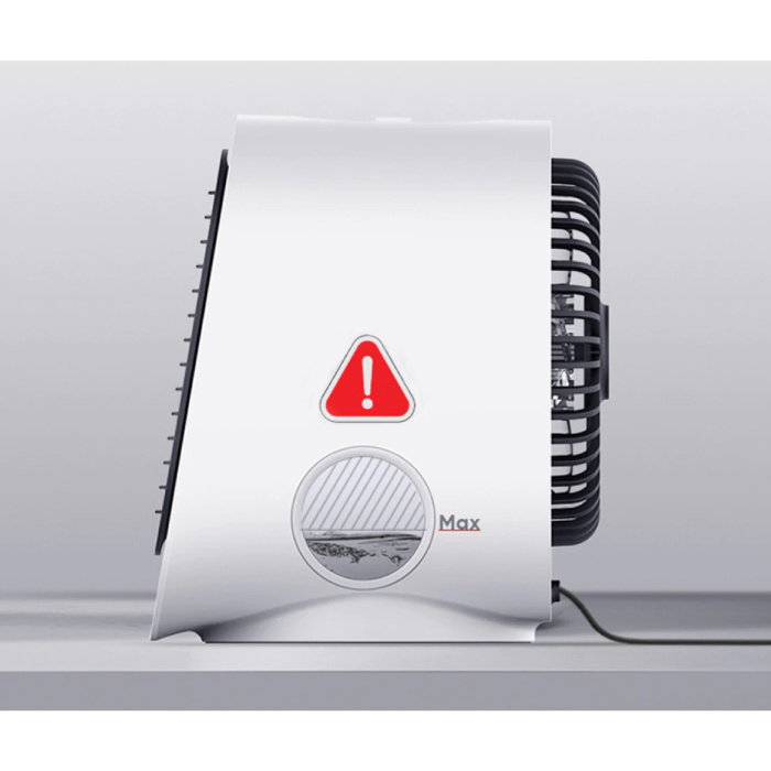 Stuff Certified® Portable Air Conditioner - Water Cooling - Mini Fan / Air Cooler White
