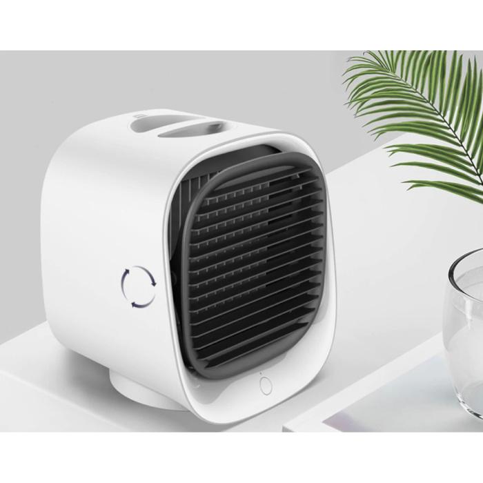 Stuff Certified® Climatiseur portable - eau de refroidissement - Mini ventilateur / refroidisseur d'air vert