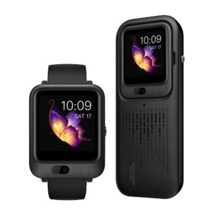 LEM11 3-in-1 Smartwatch + Draadloze Speaker/Powerbank iOS Android - 16GB