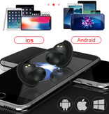 HANXI TWS-X9 Pro Wireless Bluetooth Earphones Earphones Earbuds Air Wireless Pods Black