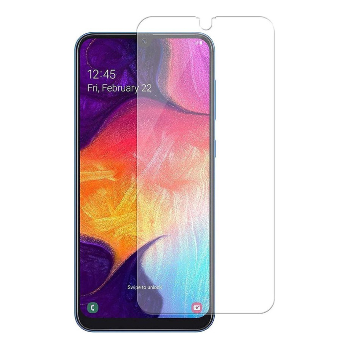 Displayschutzfolie Samsung Galaxy A20 Hartglasfolie Hartglas