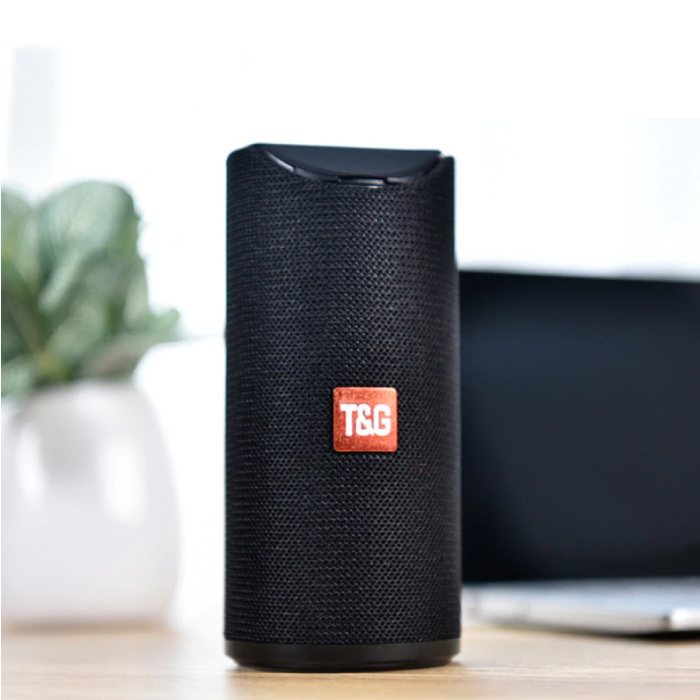 Haut-parleur de barre de son sans fil TG-113 Boîte de haut-parleur sans fil Bluetooth 4.2 noir