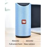 T & G TG-113 Draadloze Soundbar Luidspreker Wireless Bluetooth 4.2 Speaker Box Zwart