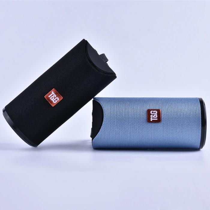 T & G TG-113 Draadloze Soundbar Luidspreker Wireless Bluetooth 4.2 Speaker Box Blauw
