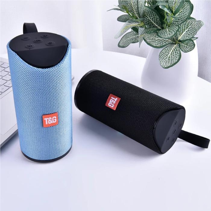 T & G TG-113 Wireless Soundbar Speaker Wireless Bluetooth 4.2 Speaker Box Blue