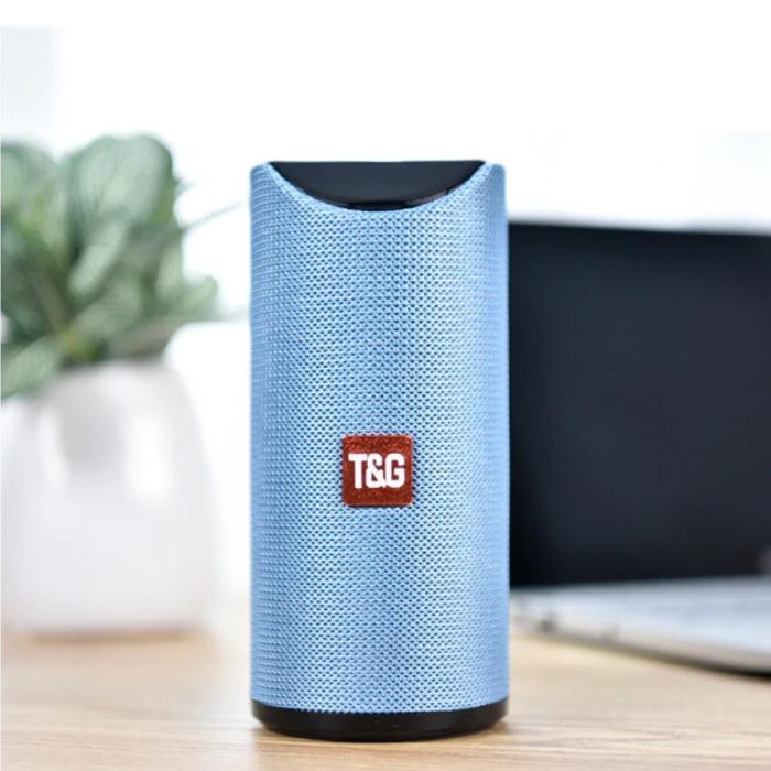 TG-113 Draadloze Soundbar Luidspreker Wireless Bluetooth 4.2 Speaker Box Blauw