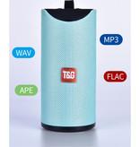 T & G TG-113 Draadloze Soundbar Luidspreker Wireless Bluetooth 4.2 Speaker Box Groen