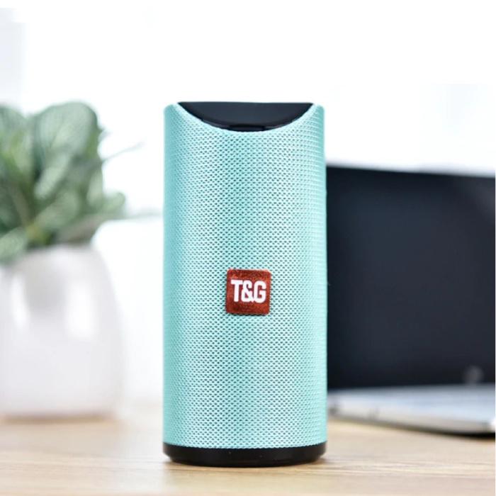 Haut-parleur de barre de son sans fil TG-113 Boîte de haut-parleur sans fil Bluetooth 4.2 vert