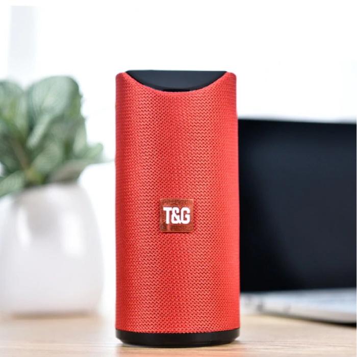 T & G TG-113 Draadloze Soundbar Luidspreker Wireless Bluetooth 4.2 Speaker Box Rood