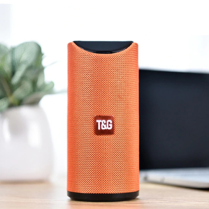 Haut-parleur de barre de son sans fil TG-113 Boîte de haut-parleur sans fil Bluetooth 4.2 orange