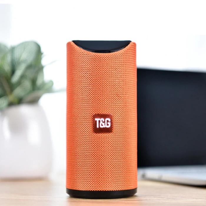 TG-113 Draadloze Soundbar Luidspreker Wireless Bluetooth 4.2 Speaker Box Oranje