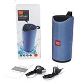 T & G TG-113 Draadloze Soundbar Luidspreker Wireless Bluetooth 4.2 Speaker Box Zilver