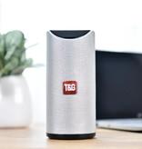 T & G TG-113 Wireless Soundbar Speaker Wireless Bluetooth 4.2 Speaker Box Silver