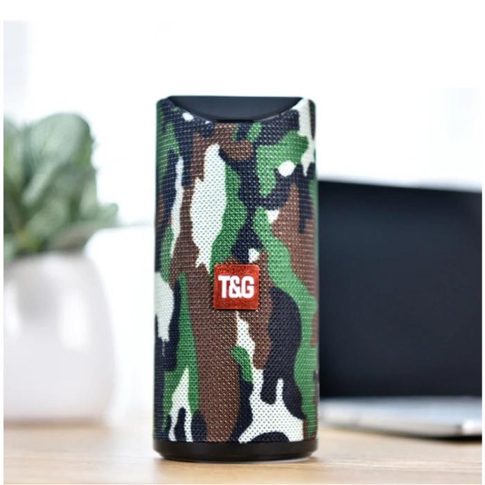 Haut-parleur de barre de son sans fil TG-113 Boîte de haut-parleur sans fil Bluetooth 4.2 Camo