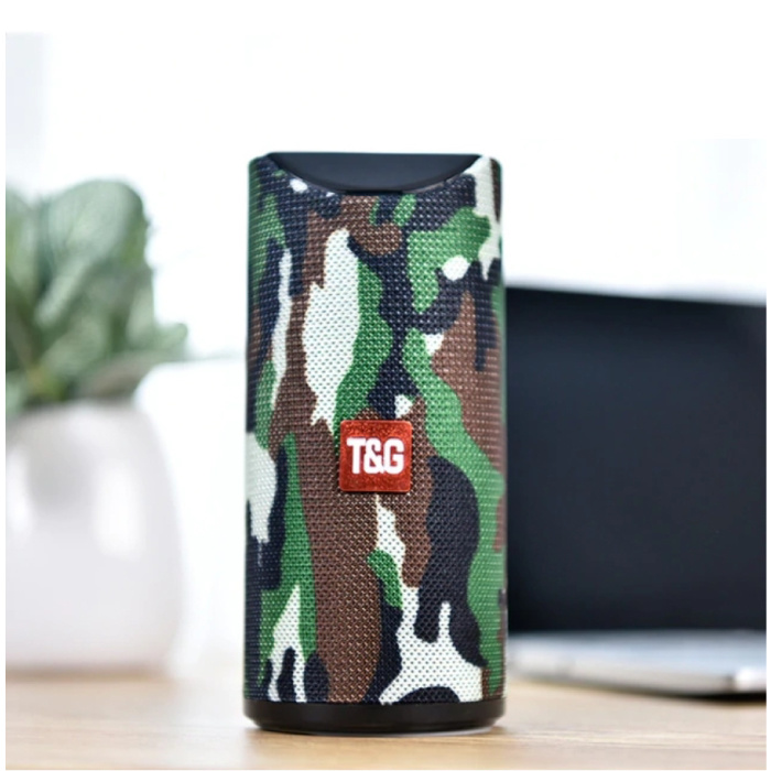 TG-113 sans fil Bluetooth Soundbar Wireless Speaker 4.2 Speaker Box Camo