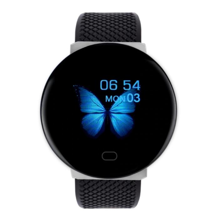 2020 SmartWatch intelligente Band Fitness Tracker Sport activité Regarder iOS Android Noir