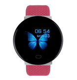 Arvin 2020 Smartwatch Smartband Fitness Tracker Sport Activity Horloge iOS Android Rood