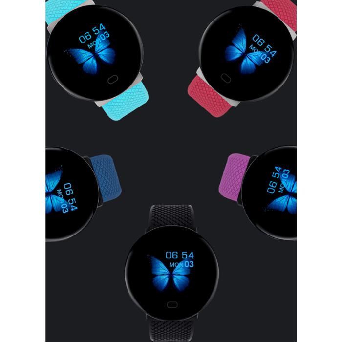 Arvin 2020 Smartwatch Smartband Fitness Tracker Montre d'activité sportive iOS Android Bleu