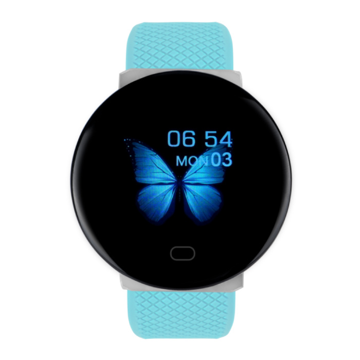 2020 SmartWatch intelligente Band Fitness Tracker Sport activité Regarder Bleu iOS Android