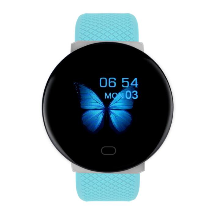 2020 Smartwatch Smartband Fitness Tracker Montre d'activité sportive iOS Android Bleu