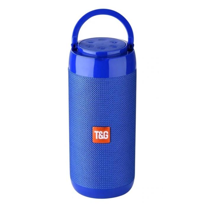 Haut-parleur de barre de son sans fil TG-113C Boîte de haut-parleur sans fil Bluetooth 4.2 bleu