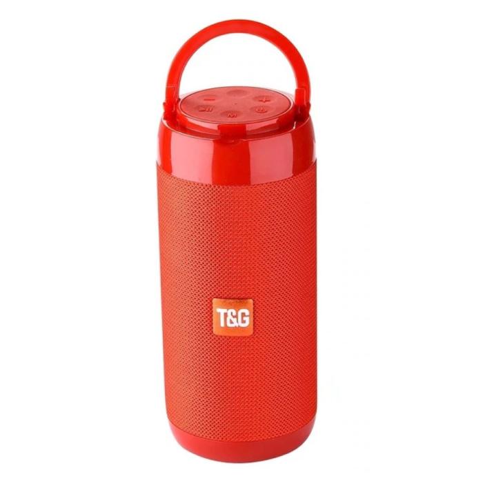 Drahtloser Soundbar-Lautsprecher TG-113C Drahtloser Bluetooth 4.2-Lautsprecherbox Rot