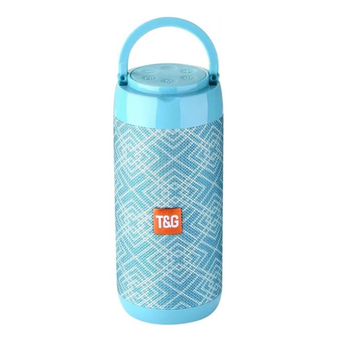 TG-113C Draadloze Soundbar Luidspreker Wireless Bluetooth 4.2 Speaker Box Wit-Blauw