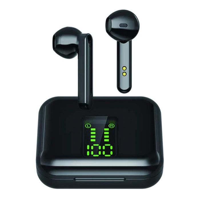 Écouteurs Bluetooth sans fil X15 Écouteurs Écouteurs sans fil Écouteurs noirs