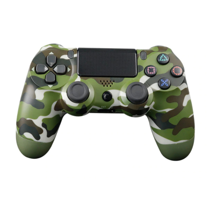 Gaming Controller voor PlayStation 4 - PS4 Bluetooth Gamepad met Vibratie Camo