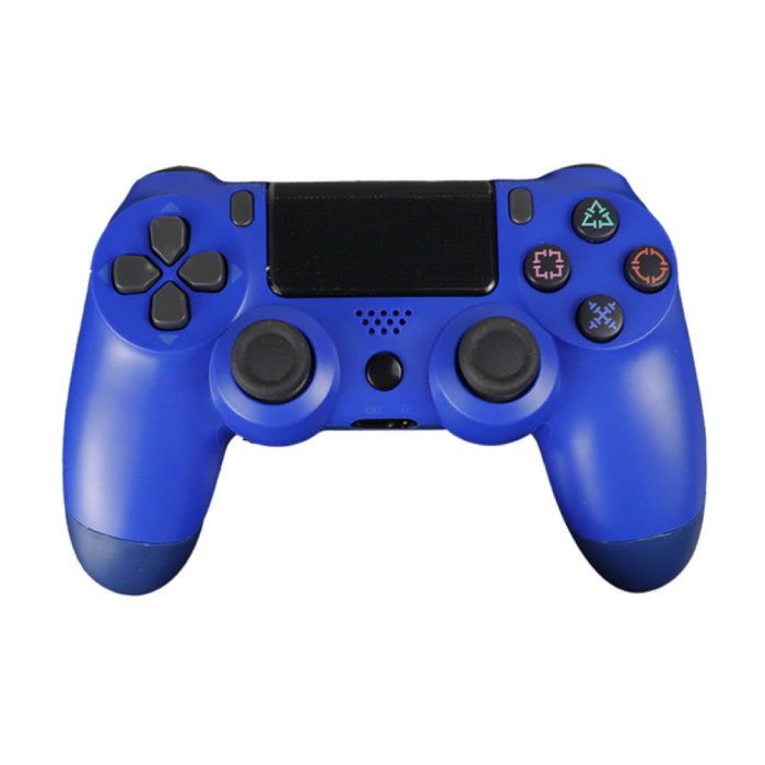 Gaming Controller für PlayStation 4 - PS4 Bluetooth Gamepad mit Vibration Blue