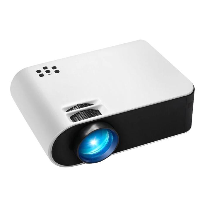 AUN W18 Mini LED Projector - Mini Beamer Home Media Speler