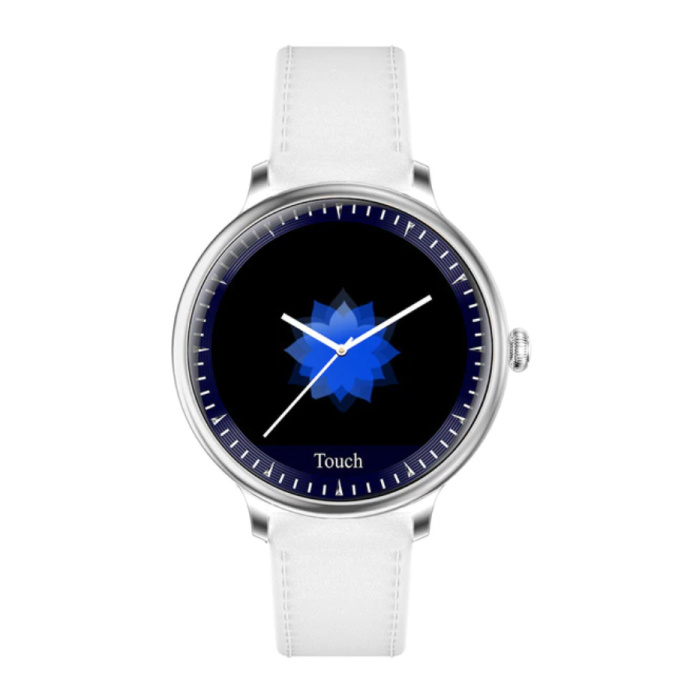 NY12 Luxus Smartwatch Uhr Fitness Activity Tracker iOS Android - Weiß