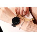 Hannah Martin Dames Horloge - Anoloog Uurwerk Mesh Bandje voor Vrouwen - CH36-WFH