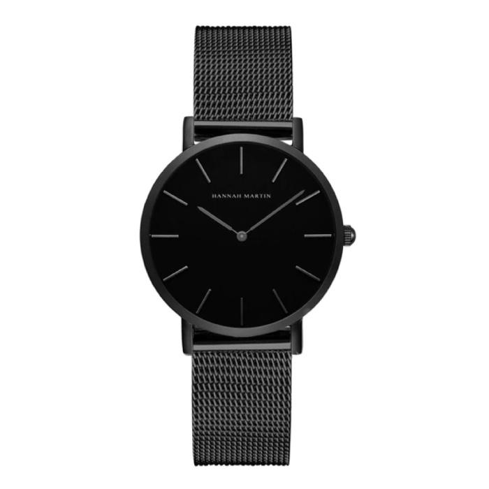 Dames Horloge - Anoloog Uurwerk Mesh Bandje voor Vrouwen - CH36-WYH