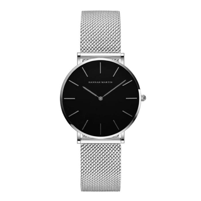Dames Horloge - Anoloog Uurwerk Mesh Bandje voor Vrouwen - CH36-WYY