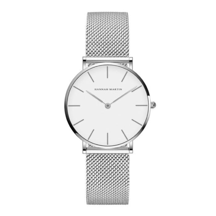 Dames Horloge - Anoloog Uurwerk Mesh Bandje voor Vrouwen - CB36-WYY