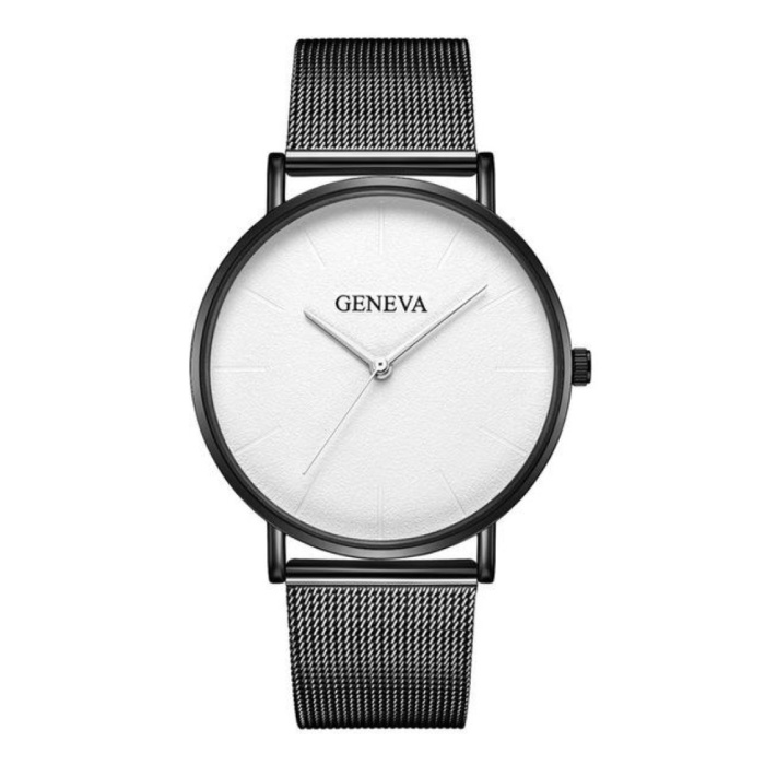 Luxury Ladies Watch - Anologue Movement Mesh Strap for Women