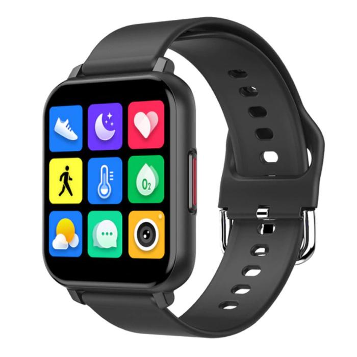 T82 Smartwatch Smartband Smartphone Fitness Sport Activity Tracker Horloge IPS iOS Android iPhone Samsung Huawei Zwart