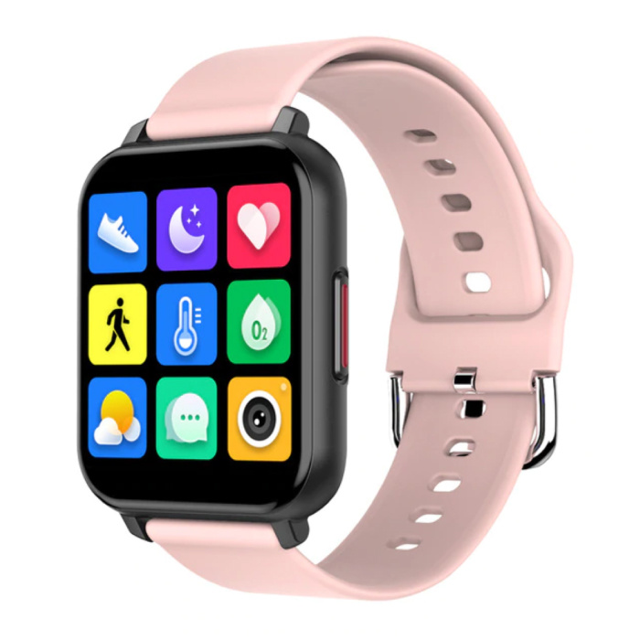 T82 Smartwatch Smartband Smartphone Fitness Sport Activité Tracker Montre IPS iOS Android iPhone Samsung Huawei Rose