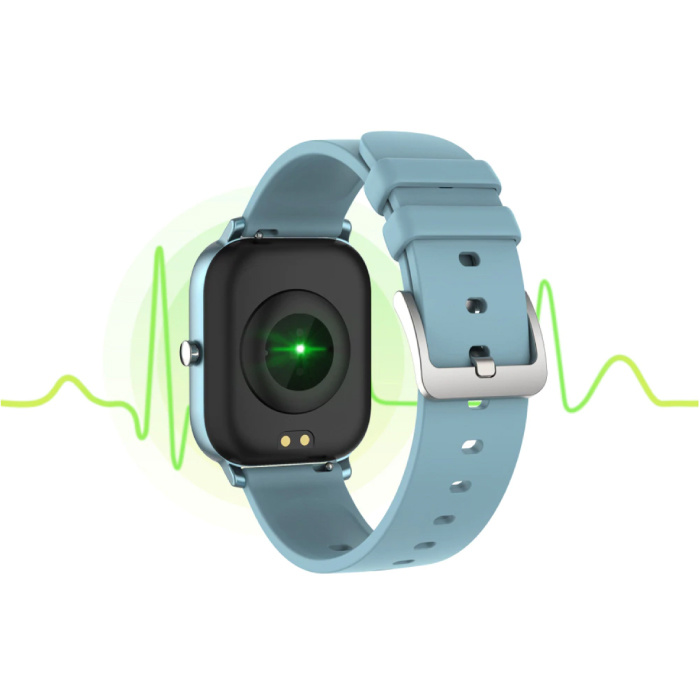 Lige 2020 Smartwatch Smartband Smartphone Fitness Sport Activité Tracker Montre IPS iOS Android iPhone Samsung Huawei Gris