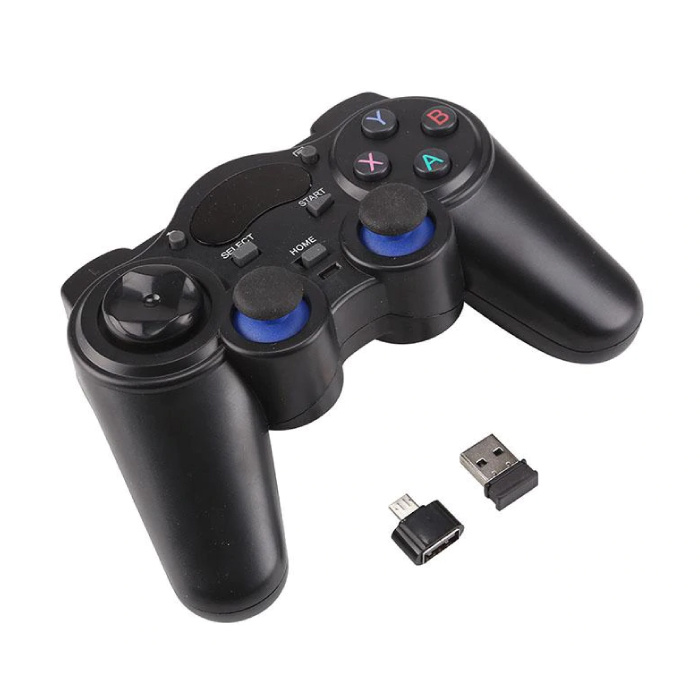 Gaming Controller voor Android / PC / PS3  - Micro-USB Bluetooth Gamepad Zwart