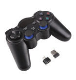 EastVita 2-Pack Gaming Controller voor Android / PC / PS3  - Micro-USB Bluetooth Gamepad Zwart