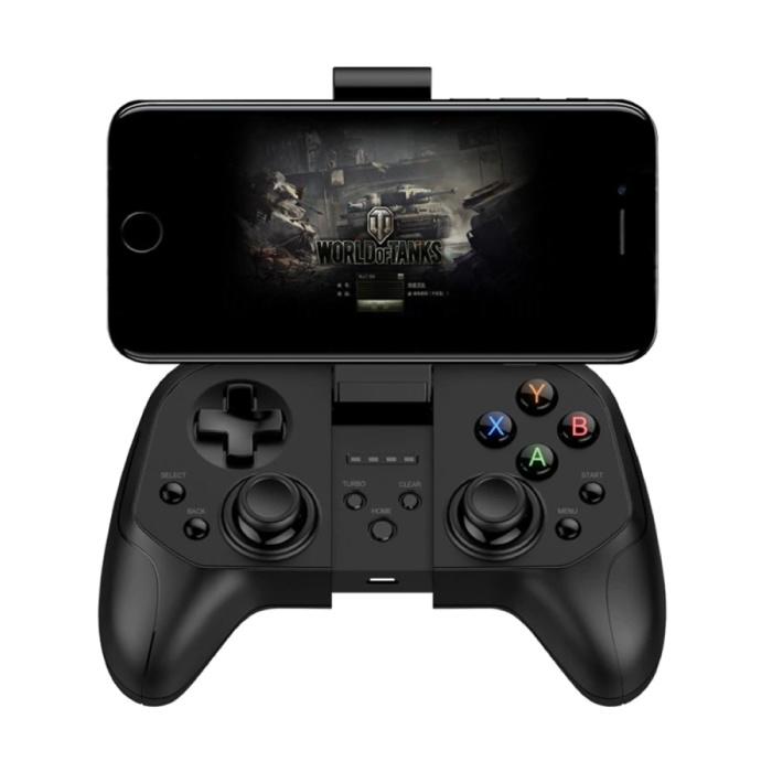 Gaming Controller für Smartphones - Bluetooth 4.0 Gamepad Handy Schwarz