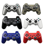 Stuff Certified® Gaming Controller voor PlayStation 3 - PS3 Bluetooth Gamepad Wit