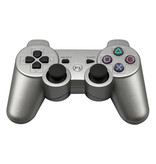 Stuff Certified® Gaming Controller voor PlayStation 3 - PS3 Bluetooth Gamepad Zilver