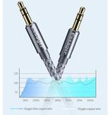 Essager AUX Kabel 3.5mm Gevlochten Nylon Audio Jack - 3 Meter