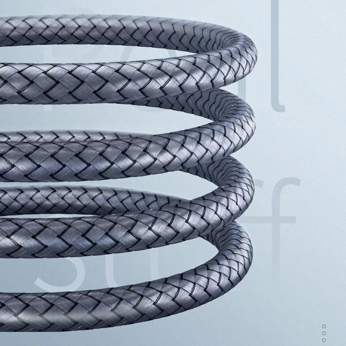 Essager Câble AUX Jack audio en nylon tressé 3,5 mm - 3 mètres