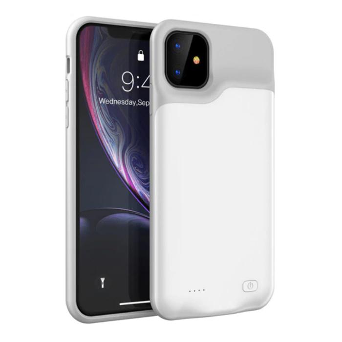 Stuff Certified® iPhone 11 Pro Max Slim Powercase 6000mAh Powerbank Hoesje Oplader Batterij Cover Case Wit