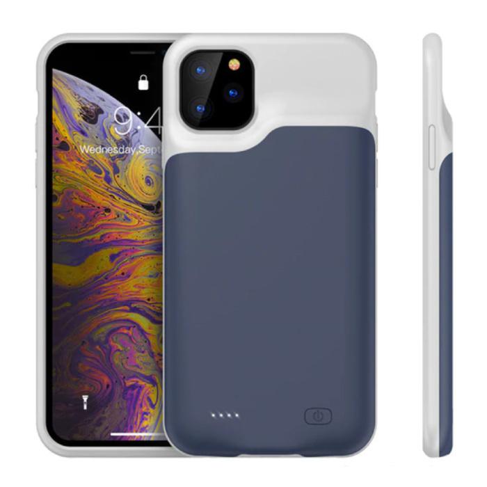 Stuff Certified® iPhone 11 Pro Slim Powercase 4000mAh Powerbank Hoesje Oplader Batterij Cover Case Blauw