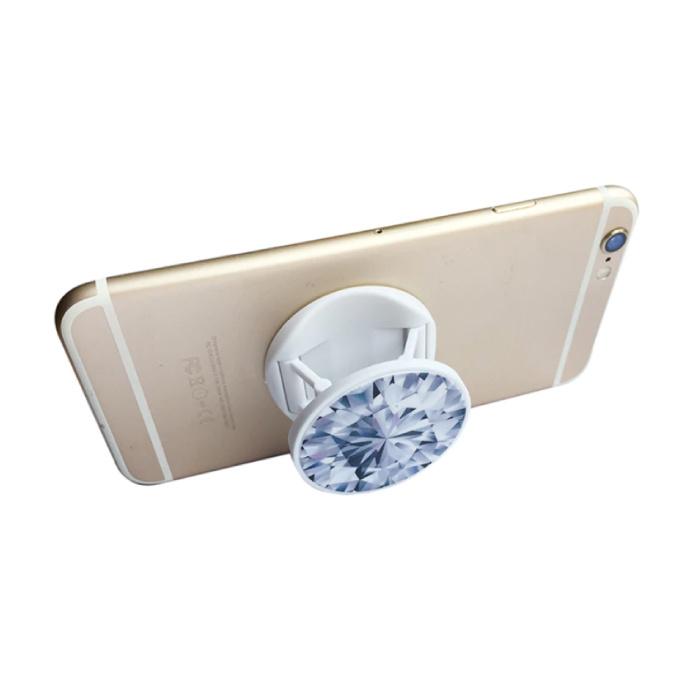 Stuff Certified® Pop Socket Bouton de téléphone Ventouse Support de poignée Support de bouton Béquille